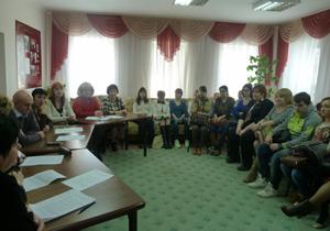 Круглый стол по взаимодействию «БКЦСОН» с общественными организациями и вол ...